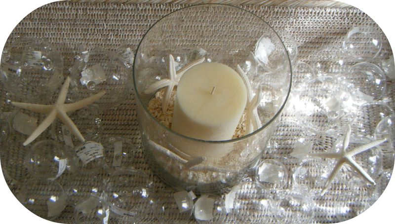 Candle sparkle shells 035