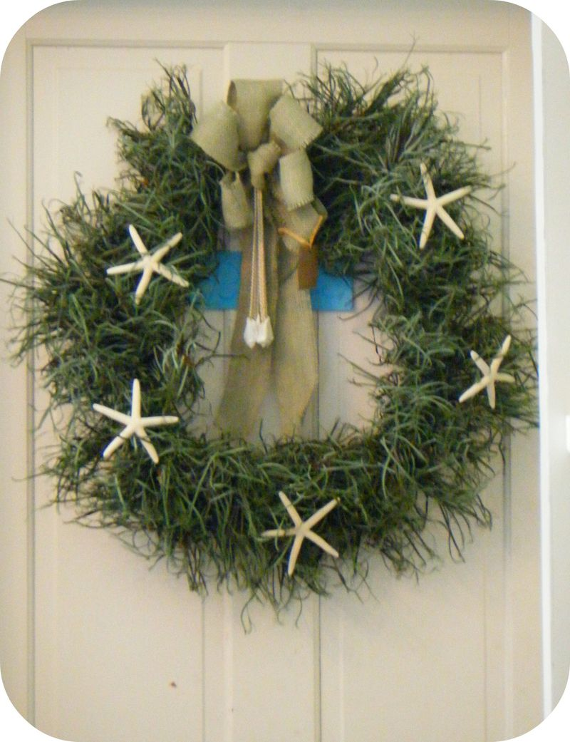 Starfish Wreath 043