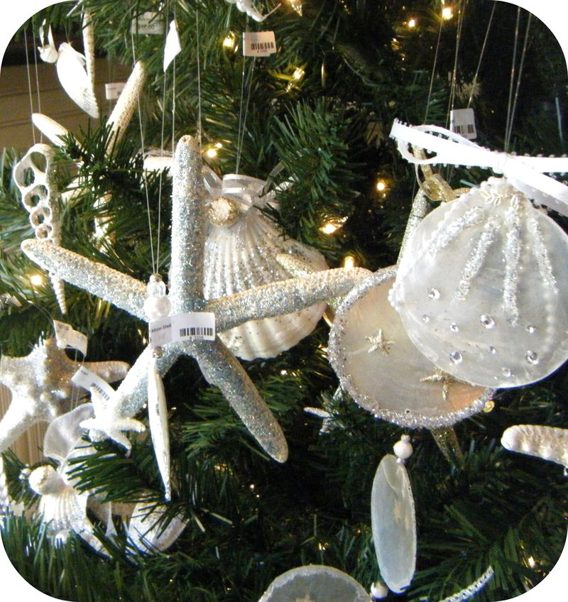 Shell Ornament Love 029