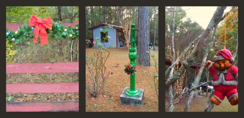 Xmas outdoors collage